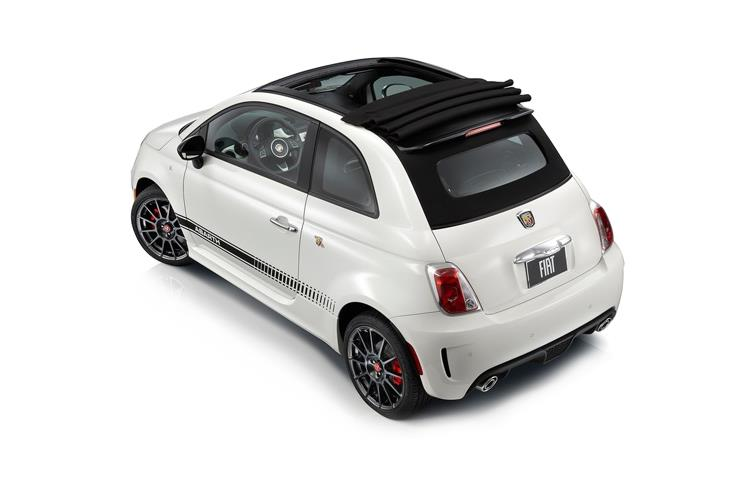 Abarth 595 C Cabrio 1.4 T-Jet 165PS Turismo 2Dr Auto back view