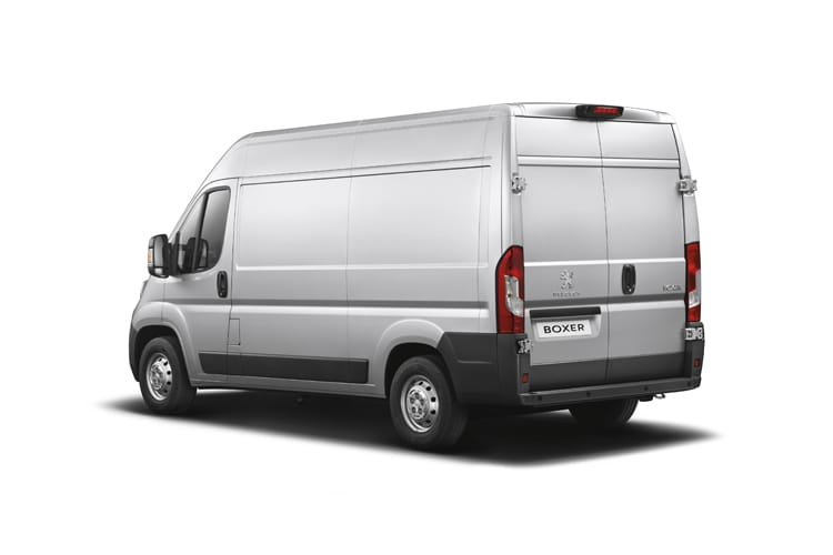 Peugeot Boxer 435 L4 2.2 BlueHDi FWD 140PS Professional Van High Roof Manual [Start Stop] back view