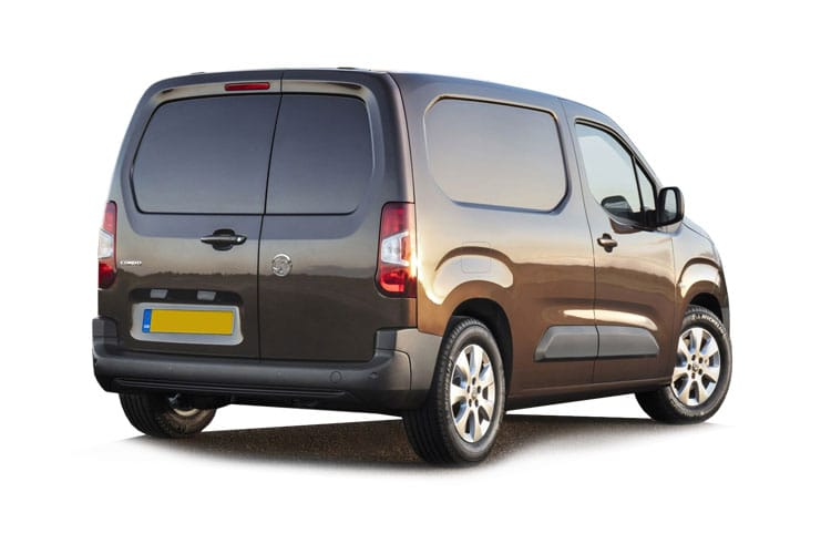 Vauxhall Combo Cargo L1 2300 1.5 Turbo D FWD 130PS Sportive Van Manual [Start Stop] back view