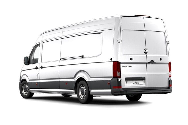 Volkswagen Crafter CR35MWB 4Motion 2.0 TDI 4WD 140PS Trendline Van Manual [Start Stop] back view
