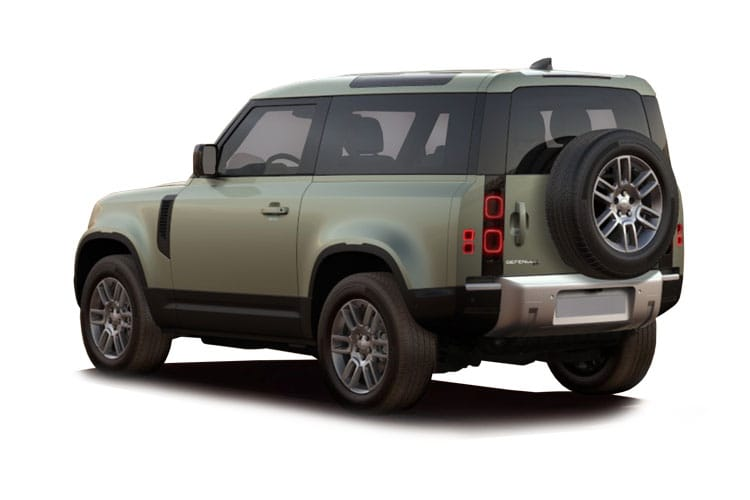 Land Rover Defender 90 SUV 3Dr 3.0 D MHEV 200PS S 3Dr Auto [Start Stop] [5Seat] back view