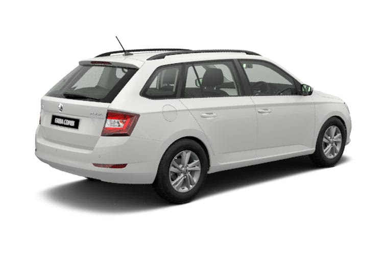 Skoda Fabia Estate 1.0 TSi 95PS SE 5Dr Manual [Start Stop] back view