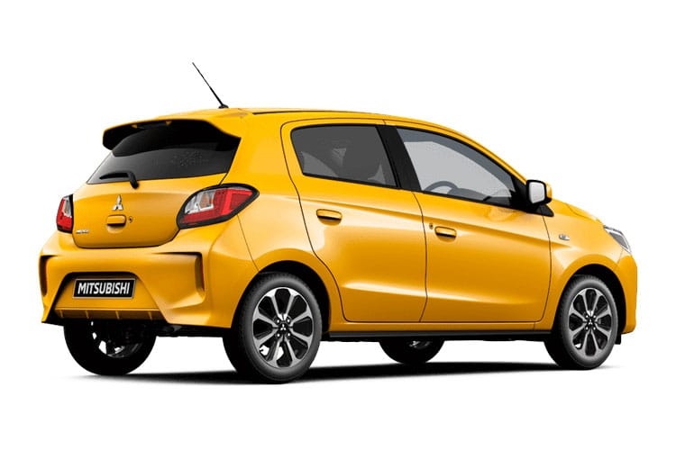 Mitsubishi Mirage Hatch 5Dr 1.2  71PS Design Pro 5Dr Manual [Start Stop] back view