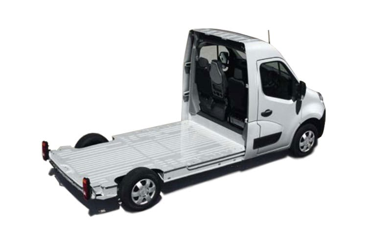 Vauxhall Movano F35 L3 2.3 CDTi BiTurbo FWD 150PS  Platform Cab Manual [Start Stop] back view