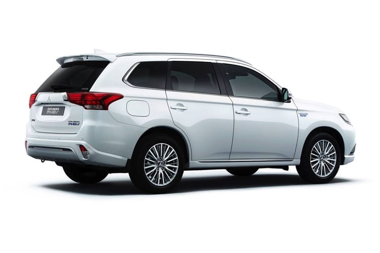 Mitsubishi Outlander PHEV SUV 2.4 h TwinMotor 13.8kWh 224PS Dynamic Safety 5Dr CVT [Start Stop] back view