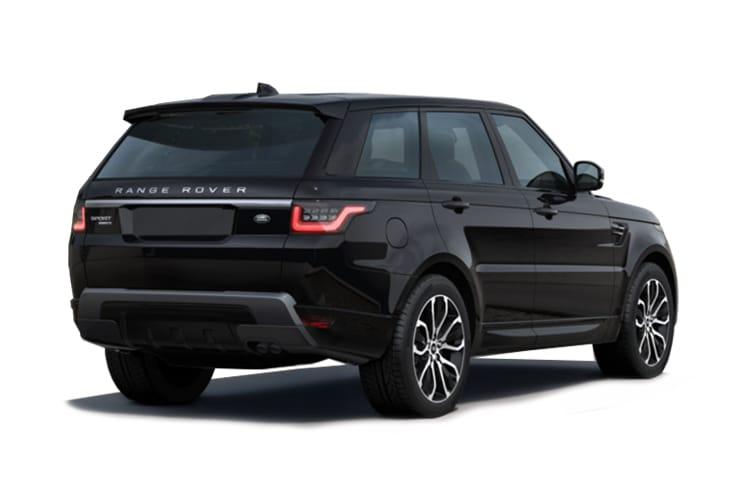 Land Rover Range Rover Sport SUV 3.0 D MHEV 350PS HST 5Dr Auto [Start Stop] [5Seat] back view