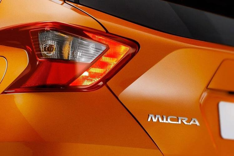Nissan Micra Hatch 5Dr 1.0 IG-T 100PS N-Sport 5Dr XTRON [Start Stop] detail view