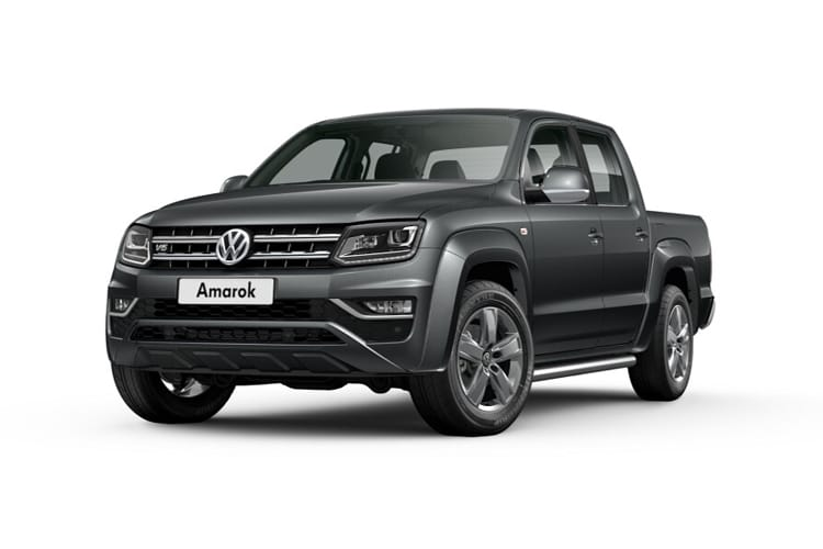 Volkswagen Amarok Pick Up DCab 4Motion 3.0 TDI V6 4WD 258PS Black Edition Pickup Double Cab Auto [Start Stop] front view