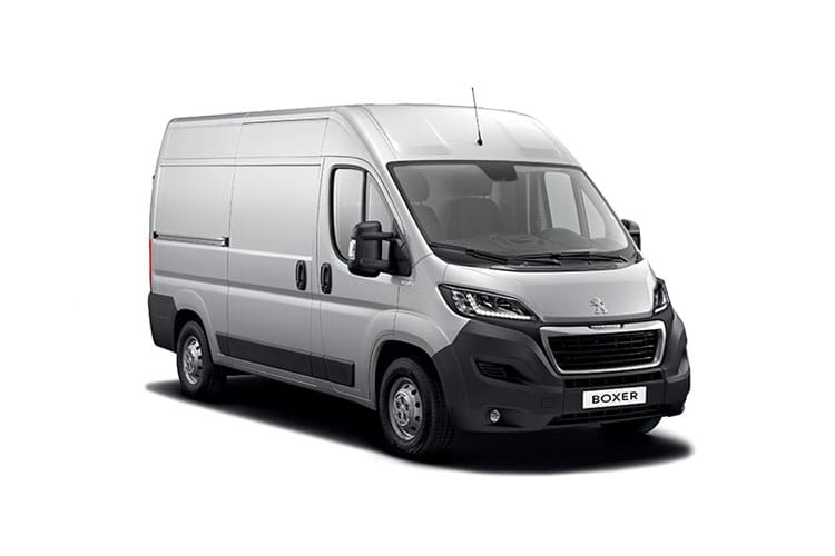 Peugeot Boxer 435 L4 2.2 BlueHDi FWD 140PS Professional Van High Roof Manual [Start Stop] front view