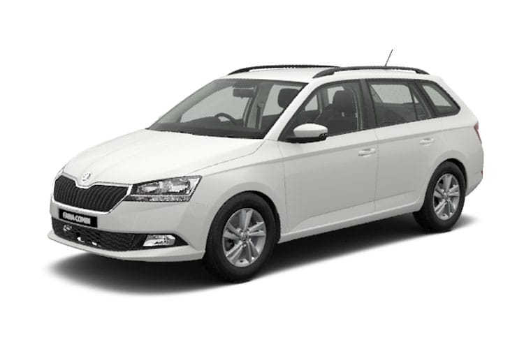 Skoda Fabia Estate 1.0 TSi 95PS SE 5Dr Manual [Start Stop] front view