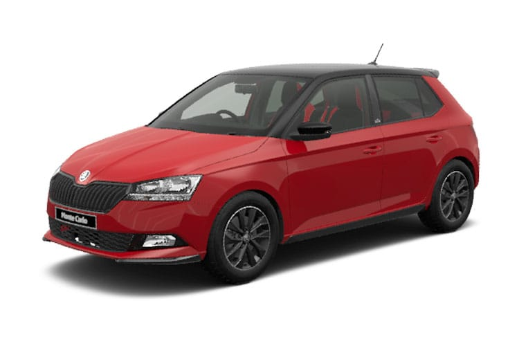 Skoda Fabia Hatch 5Dr 1.0  60PS SE Drive 5Dr Manual [Start Stop] front view
