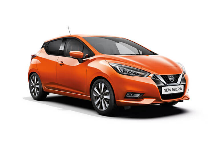 Nissan Micra Hatch 5Dr 1.0 IG-T 100PS N-Sport 5Dr XTRON [Start Stop] front view