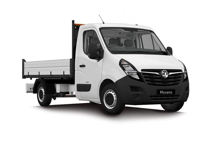 Vauxhall Movano F35 L3 2.3 CDTi BiTurbo FWD 145PS  Tipper Dropside Double Cab Manual [Start Stop] front view