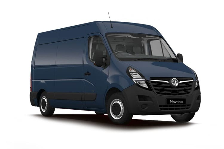 Vauxhall Movano F33 L1 2.3 CDTi BiTurbo FWD 135PS Edition Van Manual front view
