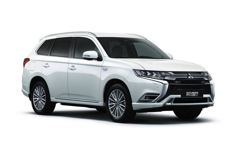 Mitsubishi Outlander PHEV SUV 2.4 h TwinMotor 13.8kWh 224PS Design 5Dr CVT [Start Stop] front view