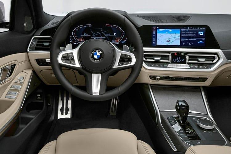 BMW 3 Series 320 xDrive Touring 2.0 d MHT 190PS M Sport 5Dr Auto [Start Stop] [Tech Pro] inside view