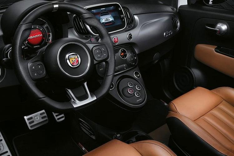 Abarth 595 Hatch 3Dr 1.4 T-Jet 165PS Monster Yamaha 3Dr Manual inside view