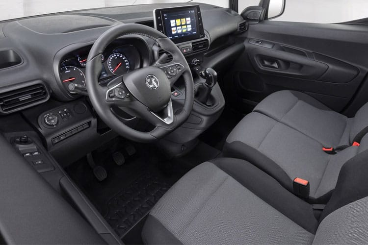 Vauxhall Combo Cargo L1 2300 1.5 Turbo D FWD 130PS Sportive Van Manual [Start Stop] inside view