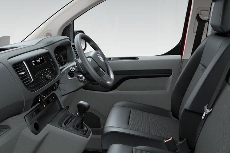 Vauxhall Vivaro L2 3100 2.0 Turbo D FWD 120PS Elite Crew Van Manual [Start Stop] inside view