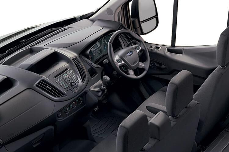 Ford Transit 350 L4 2.0 EcoBlue FWD 130PS Leader Luton Auto [Start Stop] inside view