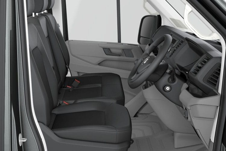 Volkswagen Crafter CR35LWB RWD 2.0 TDI RWD 140PS Startline Chassis Double Cab Manual [Start Stop] inside view