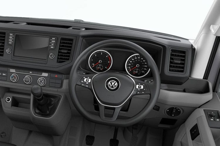 Volkswagen Crafter CR35MWB 4Motion 2.0 TDI 4WD 140PS Trendline Van Manual [Start Stop] inside view