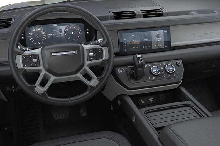 Land Rover Defender 90 SUV 3Dr 3.0 D MHEV 200PS S 3Dr Auto [Start Stop] [5Seat] inside view
