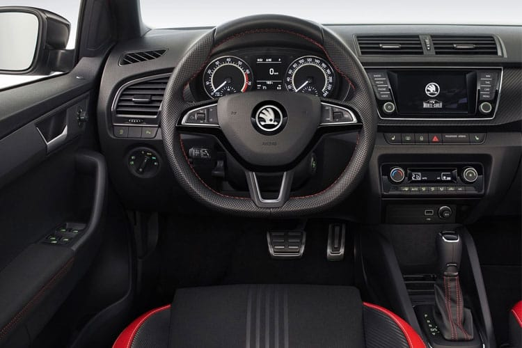 Skoda Fabia Hatch 5Dr 1.0  60PS SE Drive 5Dr Manual [Start Stop] inside view