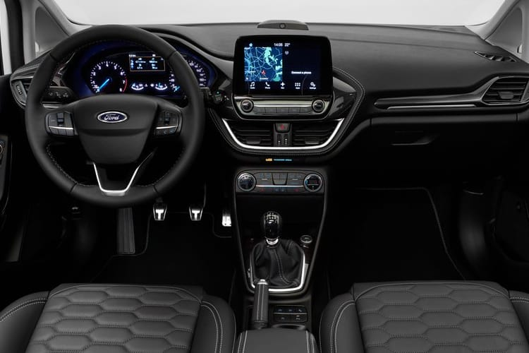 Ford Fiesta Hatch 5Dr 1.5 TDCi 85PS Trend 5Dr Manual [Start Stop] inside view