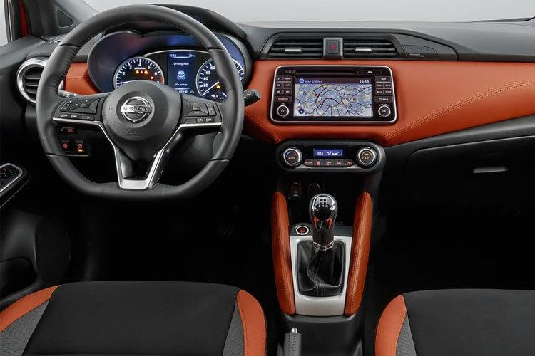 Nissan Micra Hatch 5Dr 1.0 IG-T 100PS N-Sport 5Dr XTRON [Start Stop] inside view