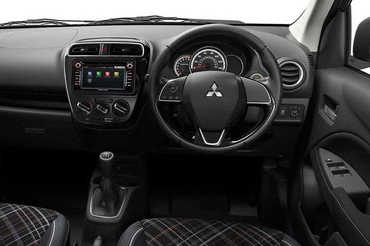 Mitsubishi Mirage Hatch 5Dr 1.2  71PS Design Pro 5Dr Manual [Start Stop] inside view