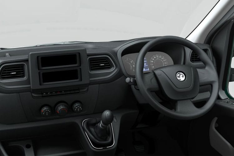 Vauxhall Movano R35DRW L3 2.3 CDTi BiTurbo DRW 145PS  Box Van Manual [Start Stop] [20m3] inside view