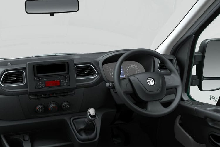 Vauxhall Movano R35 L2 2.3 CDTi BiTurbo RWD 130PS  Dropside Double Cab Manual inside view