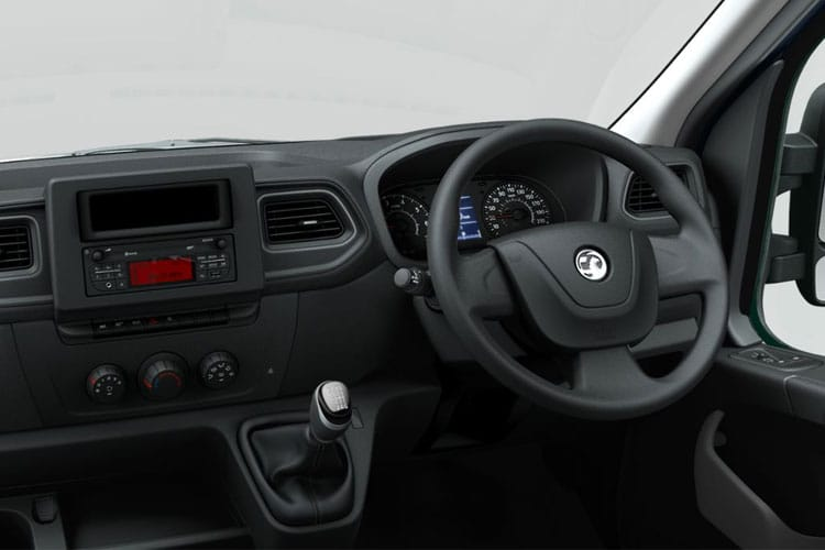 Vauxhall Movano F35 L2 2.3 CDTi BiTurbo FWD 150PS Edition Van High Roof Manual [Start Stop] inside view