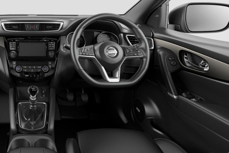 Nissan Qashqai SUV 2wd 1.3 DIG-T 140PS Visia 5Dr Manual [Start Stop] inside view