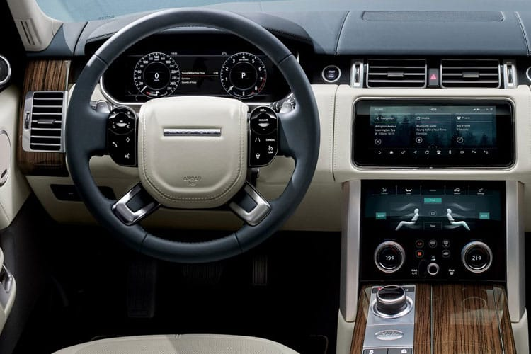 Land Rover Range Rover SUV 3.0 P MHEV 400PS Vogue 5Dr Auto [Start Stop] inside view