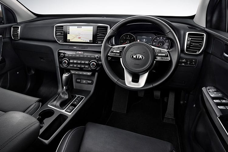 Kia Sportage SUV 2wd 1.6 GDI 130PS 3 5Dr Manual [Start Stop] inside view