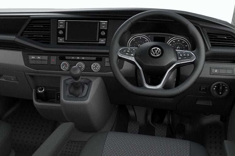 Volkswagen Transporter Kombi T32LWB 2.0 BiTDI FWD 199PS Highline Crew Van High Roof DSG [Start Stop] inside view