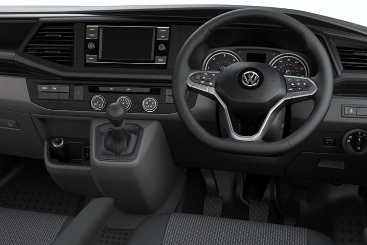 Volkswagen Transporter T30SWB 2.0 TDI FWD 110PS Startline Business Van Manual [Start Stop] inside view