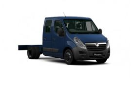 Vauxhall Movano HGV Chassis Cab van leasing